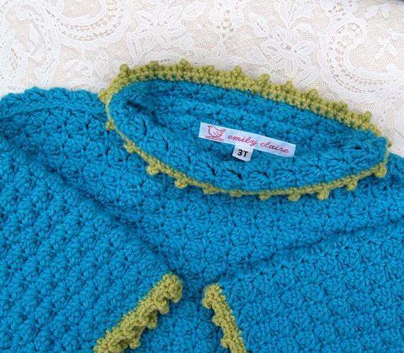 Toddler Crochet Sweater 28