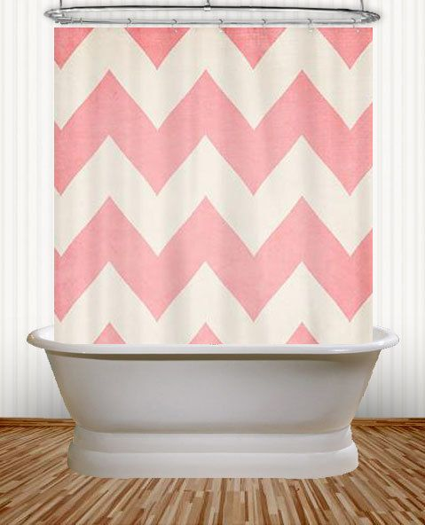 Serena And Lily Curtains Yellow Chevron Shower Curtain