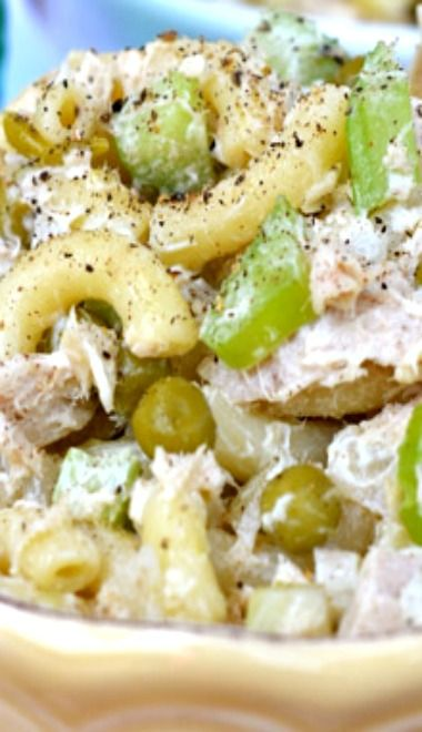 Tuna Macaroni Salad Recipe — Dishmaps