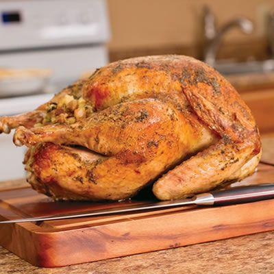 Simple Roasted Turkey | Food Glorious Food! | Pinterest