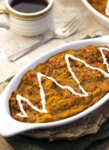 Pumpkin Pie French Toast Bake - Food Faith Fitness - use gf flour ...
