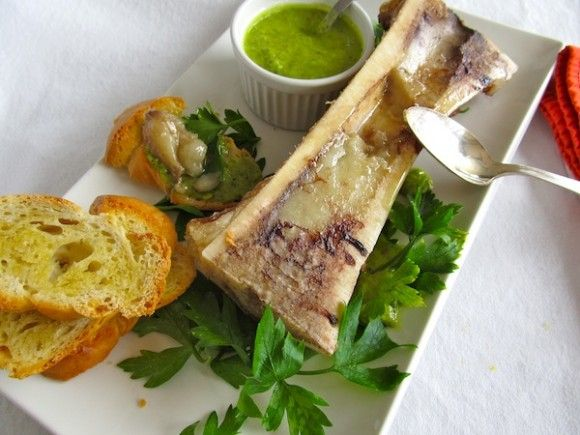Roasted Bone Marrow with Parsley Coulis | It's not so OFFAL :) | Pint ...