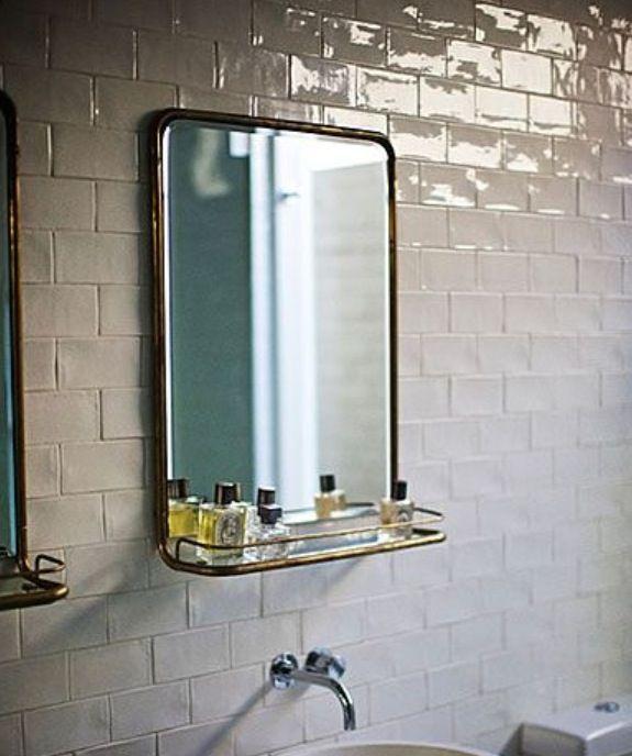 mirror with shelf for bathroom | winda 7 furniture