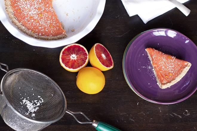 Blood orange curd tart | Recipes and food | Pinterest