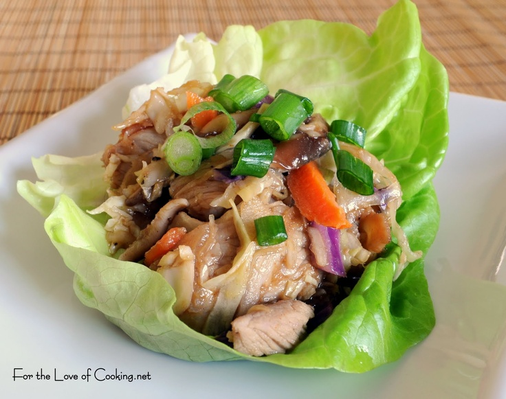 Moo Shu Pork | Oriental dishes | Pinterest