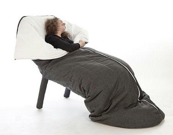 Cocoon sleeping bag chair so perfect creative