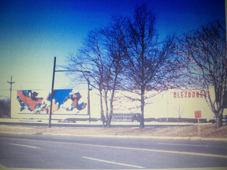 Pin by justin hall on vintage bergen county pinterest for Alexander s mural paramus