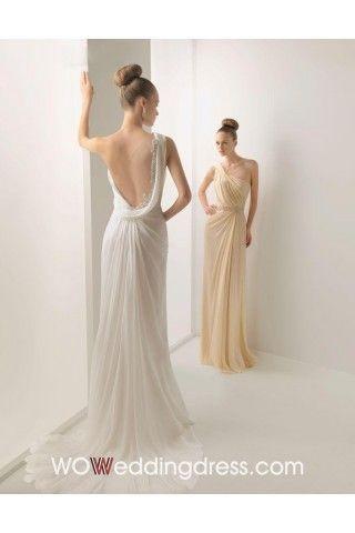 Ruffled Beach Wedding Dresses - Shop Online for Cheap Wedding Dresses
