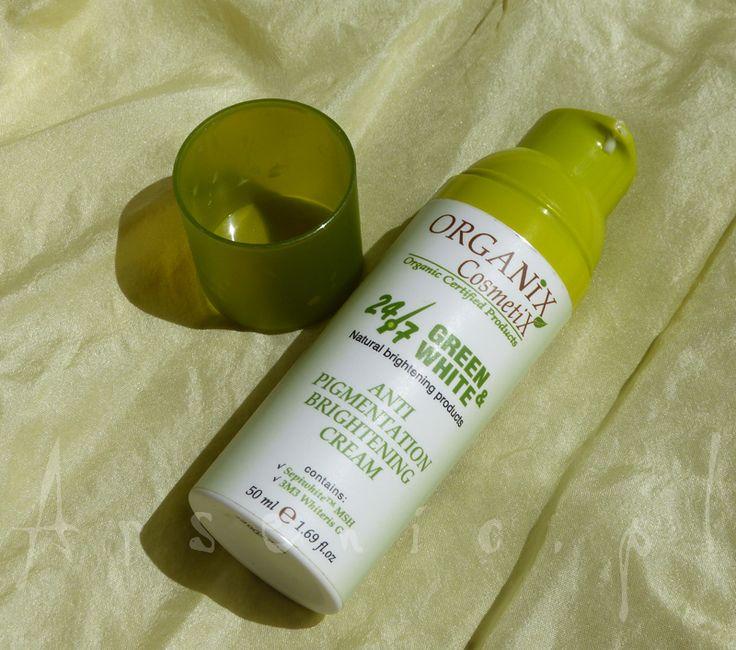 Organix Cosmetics Krem rozjaśniający przebarwienia skórne