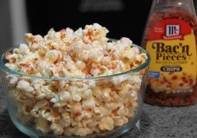 How to make Bacon Popcorn - Guyism | Put It In My Mouth | Pinterest