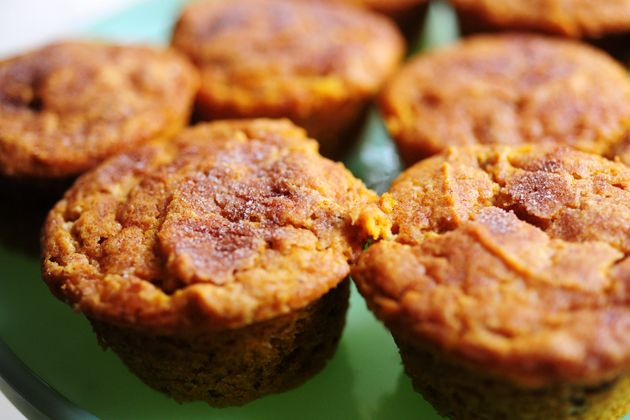 Moist Pumpkin Spice Muffins (With Cream Cheese Frosting) | Recipe