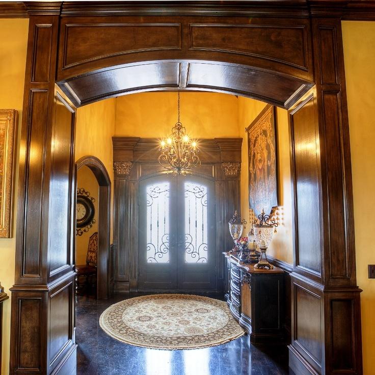 Wood trim around entryway and door for Wood trim around doors