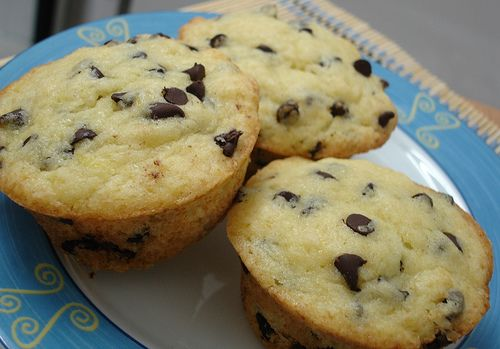 Orange Chocolate Chip Muffins | Cupcakes and Muffins | Pinterest