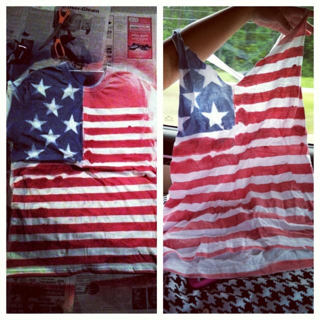 4th of july shirt diy