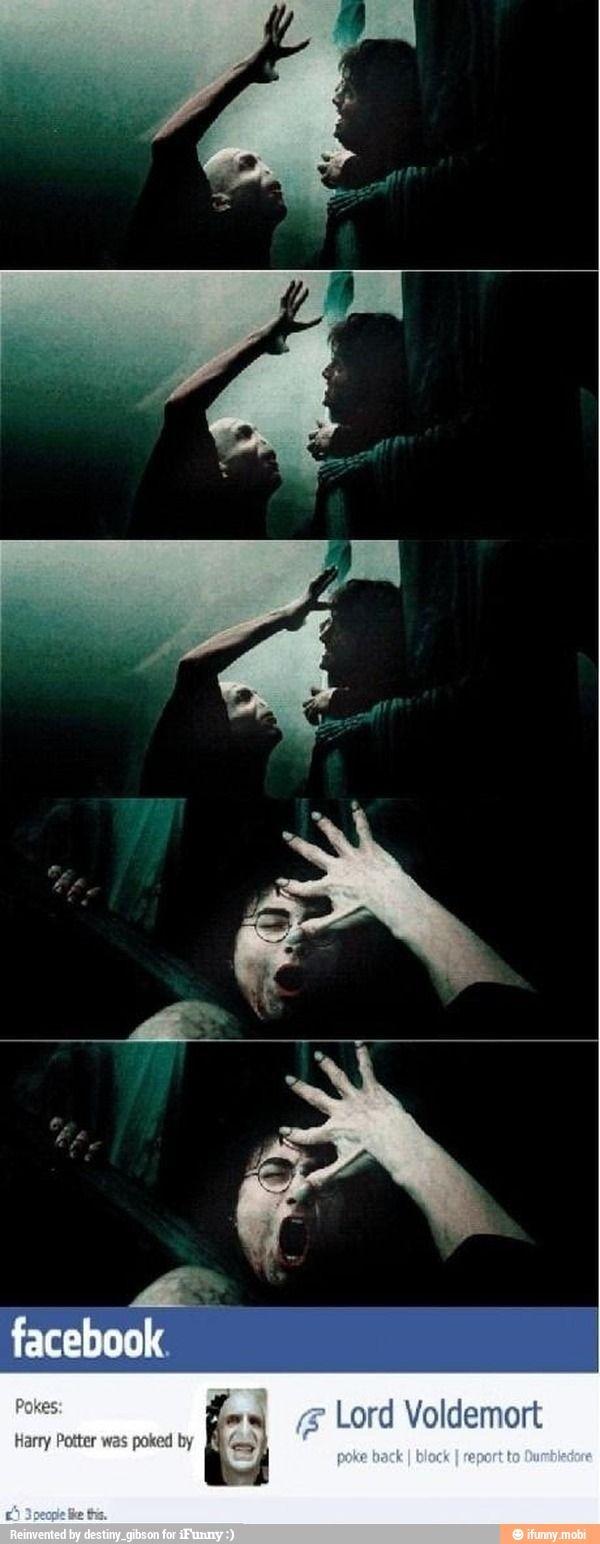 Voldemort on Facebook / iFunny :)