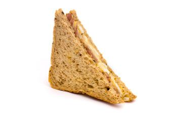 That tasty piece of right triangle sandwich  Mmm  mmm Obtuse Triangles In The Real World