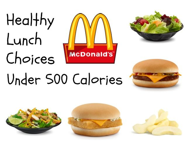 pictures 8 Fast-Food Meals Under 500 Calories