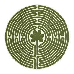 ikea freja rug with labyrinth pattern my style pinterest