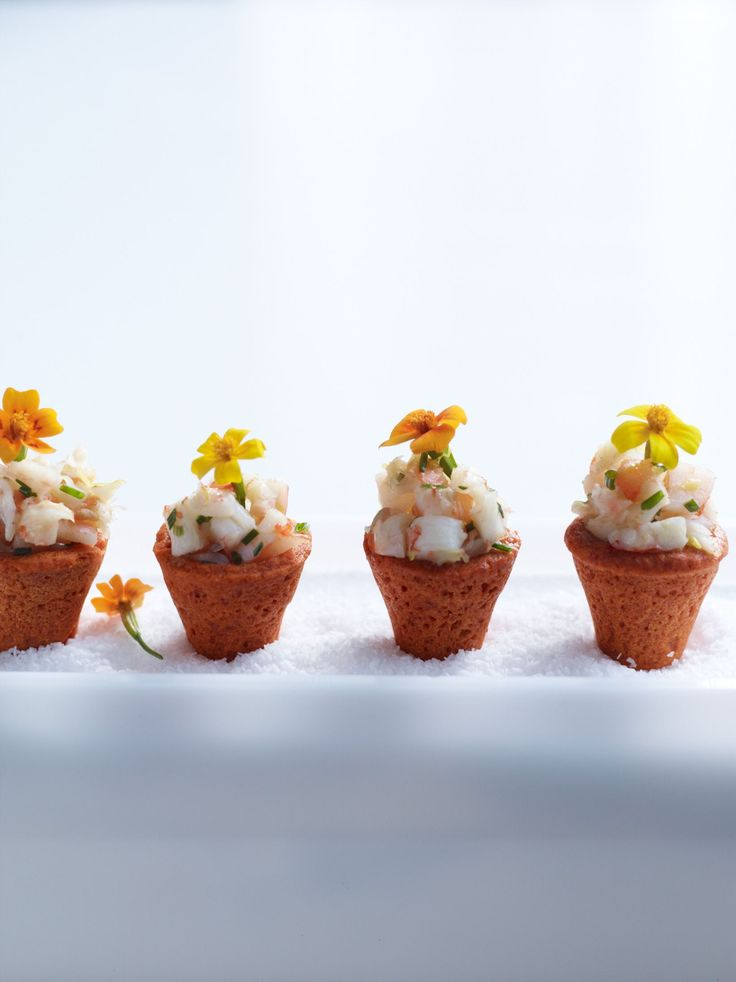Potted Shrimp, great idea. Could be done with all kinds of different ...