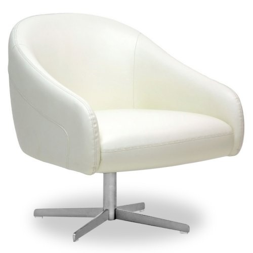 Swivel barrel chairs - Leather Modern Swivel Club Chair Home Stuff Pinterest