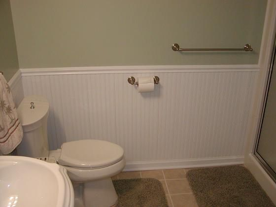 Beadboard Wainscotting Small Bathroom Ideas Pinterest
