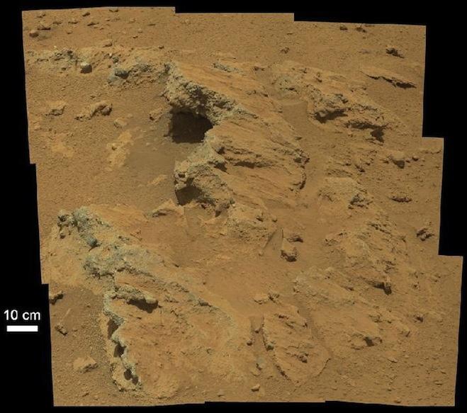 Mars ta antik nehir yatağı bulundu curiosity yeni gözlem alanına