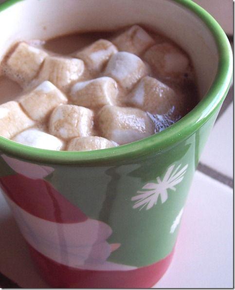 Creamy Crockpot Hot Cocoa   Christmas   Pinterest