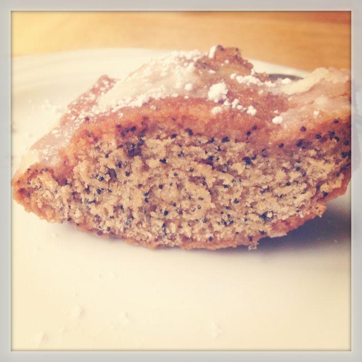 Citroen Maanzaad Cake   De Groene Keuken