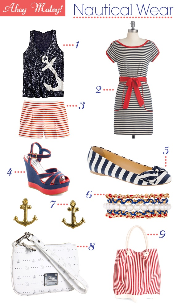 Get the look: Nautical. Check out our favorite nautical picks!
