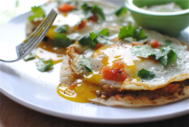 Huevos Rancheros! Cannot wait to try this! Thanks Bev, you may be my ...