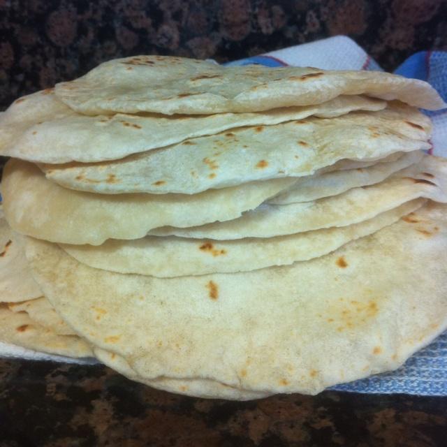 Homemade flour tortillas   Yummy   Pinterest