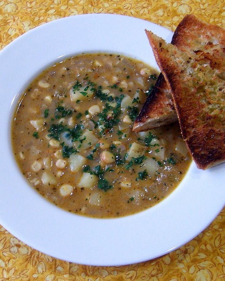 Roasted Corn & Potato Chowder | Vertical Gardens | Pinterest