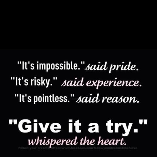 Give it a try...
