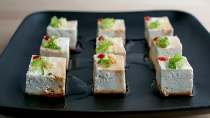 Yakko Tofu Bites Recipe | cook that | Pinterest