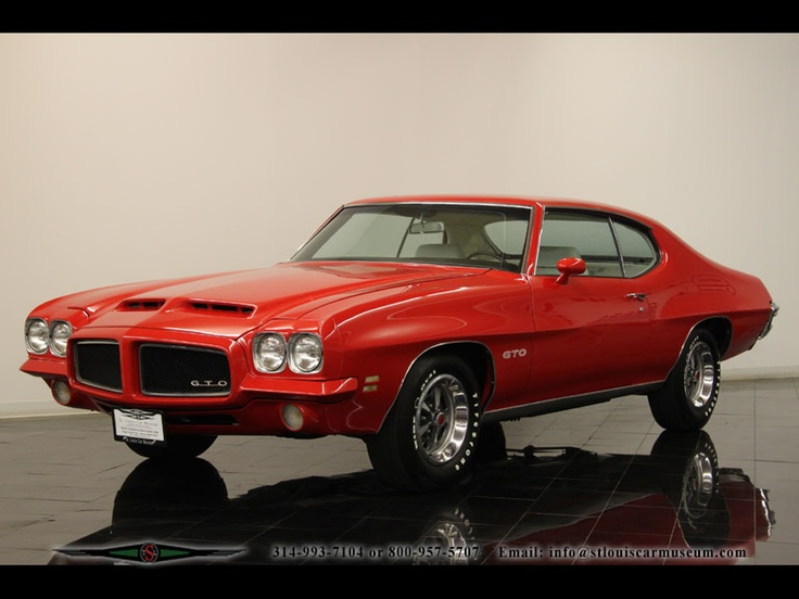 71 Gto Muscle Cars Pinterest