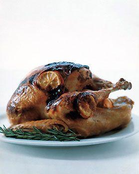 Rosemary Citrus Miso-Rubbed Turkey | Recipe