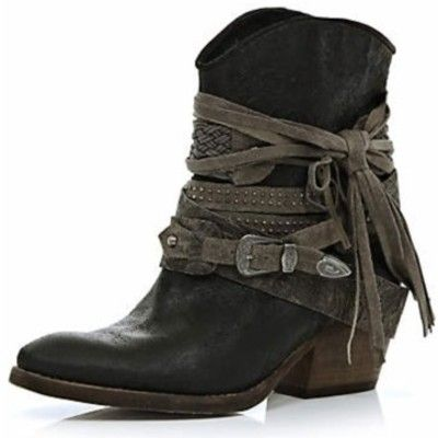 western ankle boots for women | ... western ankle boots - ankle boots