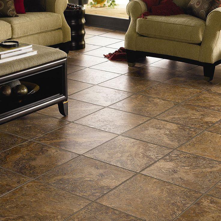 Porcelain floor tile durability