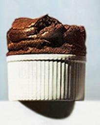 Individual Chocolate Souffles - Martha Stewart Recipes