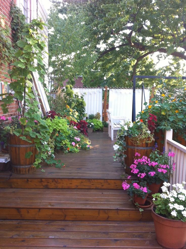 terrasse sur le toit jardins urbains pinterest. Black Bedroom Furniture Sets. Home Design Ideas