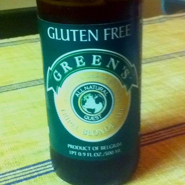 Green's Ale - Tripel from Belgium Interestig one, gluten free, strobg ...