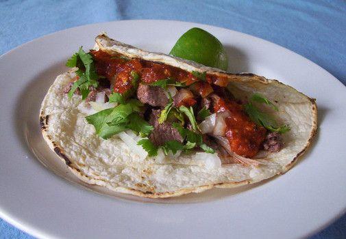 Tacos de lengua (beef tongue tacos) recipe