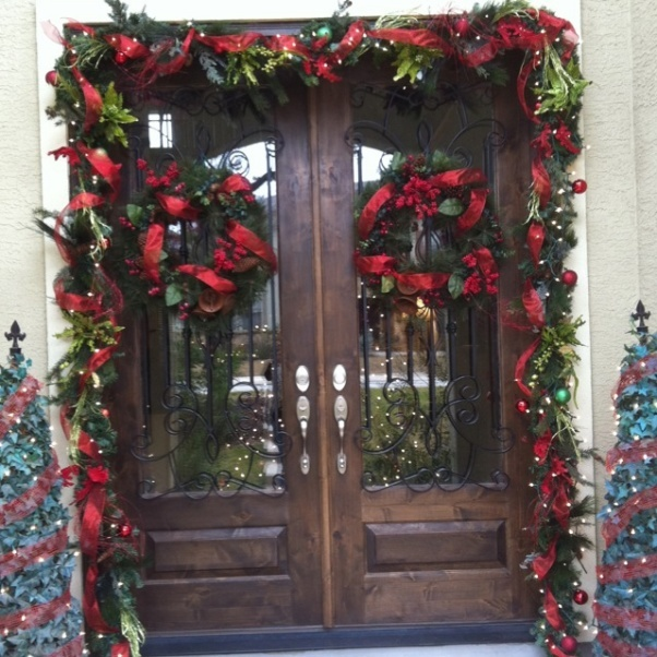 Christmas Entryway Tree Ideas Pinterest