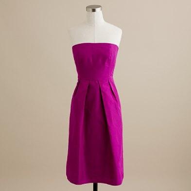 Lorelei dress in silk taffeta $175