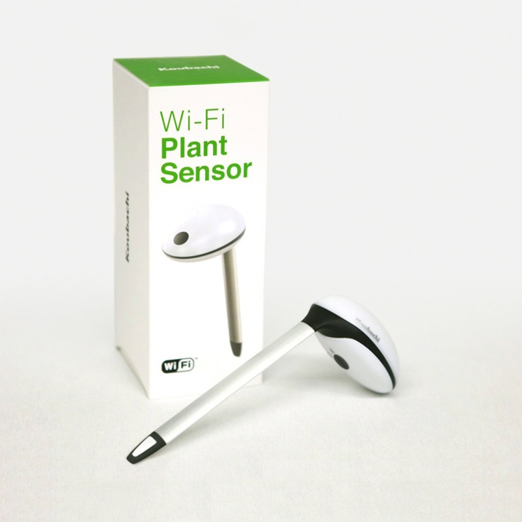 Pinterest discover and save creative ideas - Monitor your indoor plants with the koubashi wi fi sensor ...