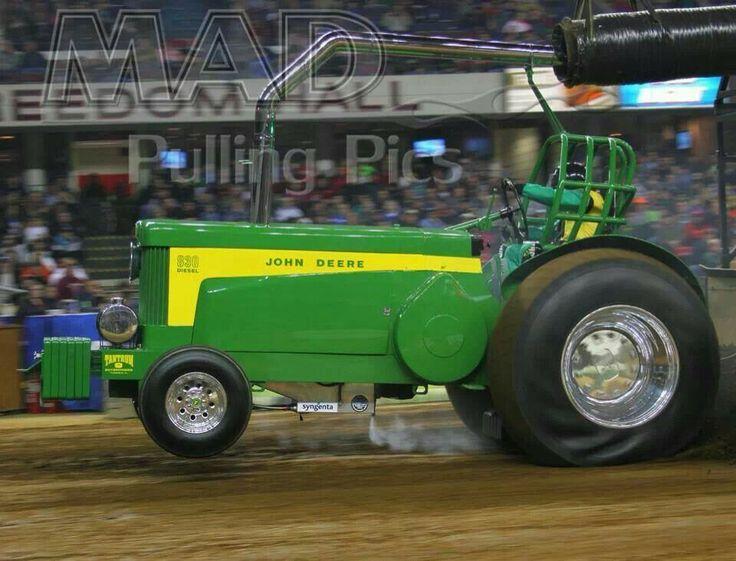 John Deere Super Stock Pulling Tractors : Classic john deere super stock tractors pinterest