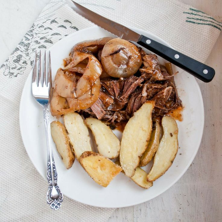 Balsamic and Onion Pot Roast in a | Healthy receipe exchange and tips ...
