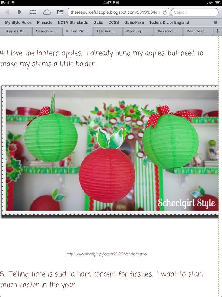Apple Classroom Decor : Apple classroom decor awesome ideas pinterest