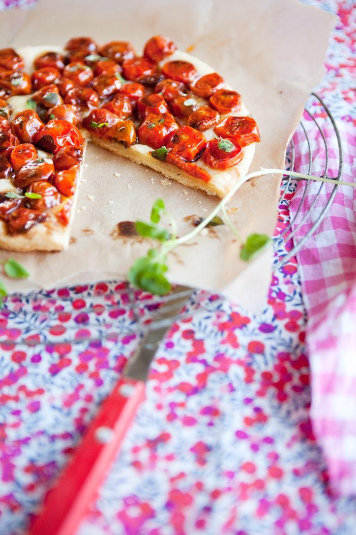 Tomato Tarte Tatin | Delish | Pinterest