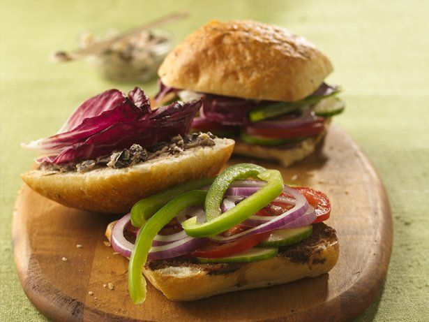 ... sandwich featuring hints of Middle Eastern cuisine - ready in 30